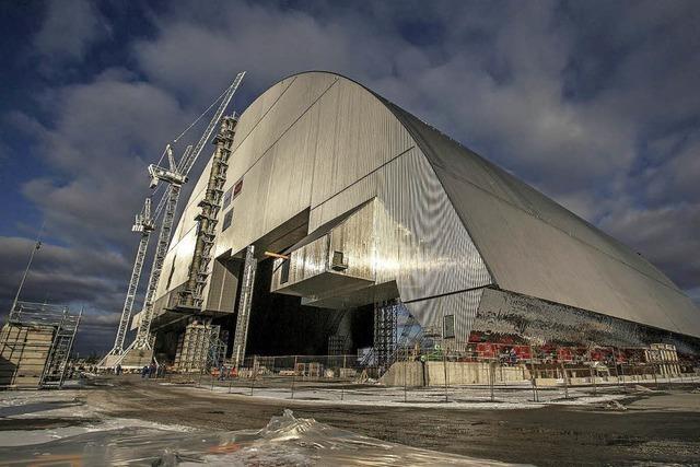 Ukraine baut Atommülllager