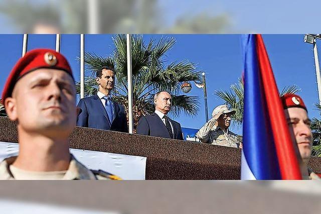 Moskau verringert Militär in Syrien