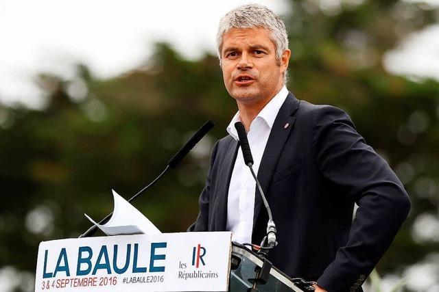 Frankreichs Konservative setzen auf Sarkozys politischen Ziehsohn