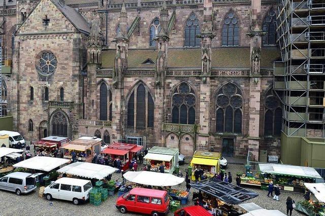 Diebe bestehlen Marktbeschicker auf dem Münsterplatz