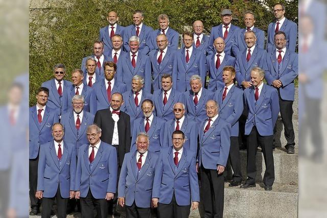 Männergesangverein am 16. Dezember in Oberried