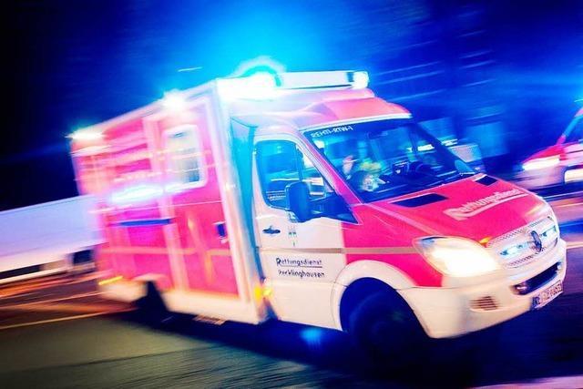 Gabel eines Radladers durchschlägt Pkw-Windschutzscheibe – 38-Jährige Frau schwer verletzt