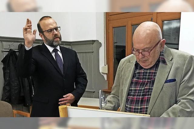 Bürgermeister in Meißenheim vereidigt