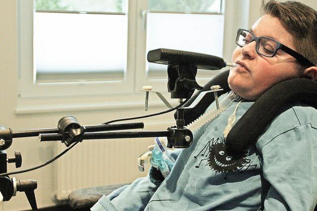 Ton angeben trotz Behinderung