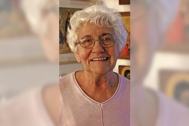 Öflinger Künstlerin wird 80 Jahre alt