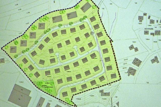 Auf Leim bietet Platz für 360 Einwohner