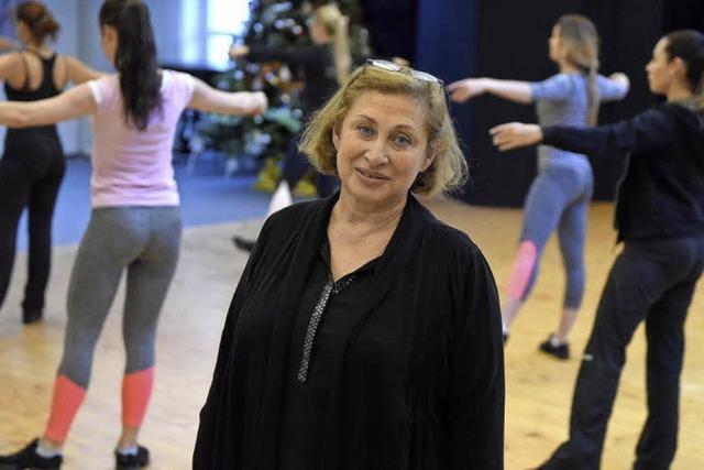 Valentina Rybalov betreibt seit 20 Jahrenr eine Balletschule in Freiburg