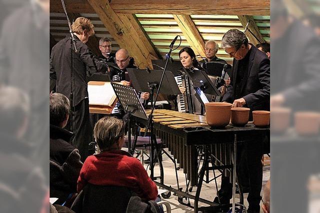 Akkordeonmusik in neuen Dimensionen