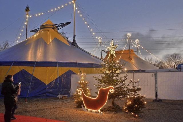 Weihnachtszeit ist Zirkuszeit