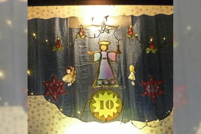 Leuchtende Weihnachtsgeschichte
