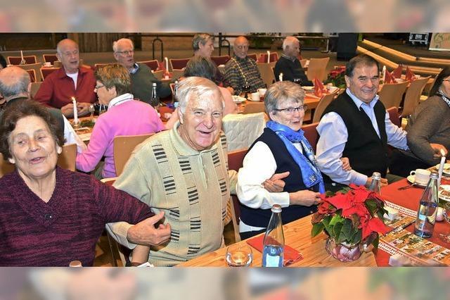 Höchenschwander Senioren feiern gemeinsam Advent