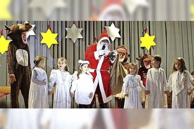 Der Nikolaus und der Sockenchor