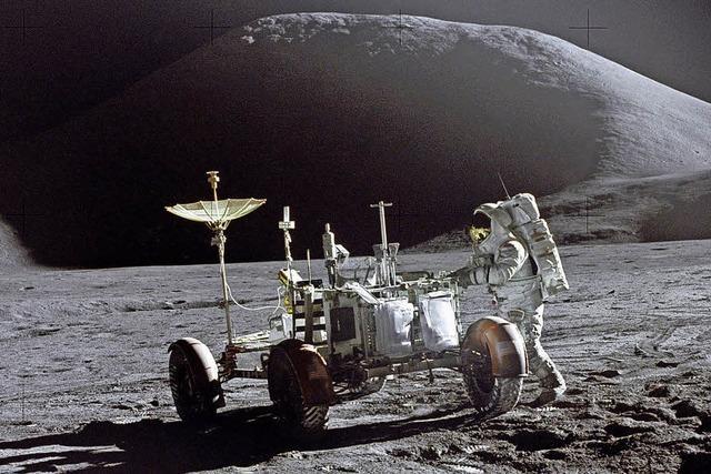 Trump träumt von der Reise zu Mond und Mars