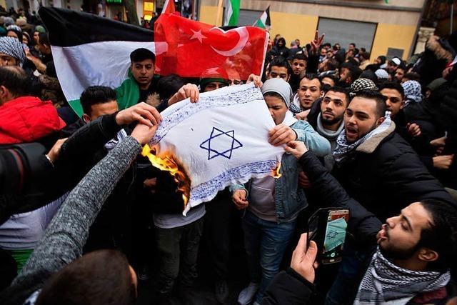 Politiker fordern härtere Strafen für Verbrennen von Flaggen