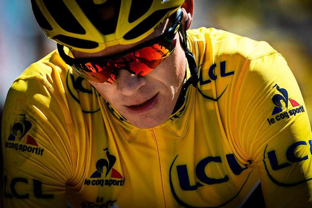 Christopher Froome bei der Tour de France 2016    Foto: AFP