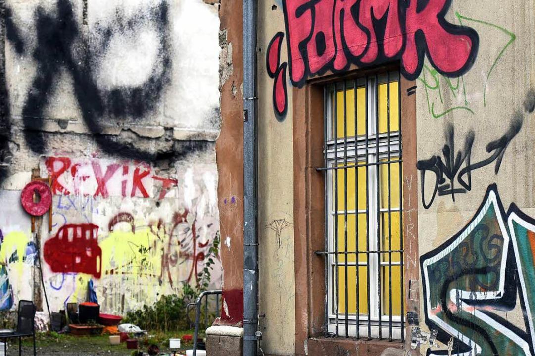 Keine Einigkeit beim Thema Graffiti    Foto: Thomas Kunz