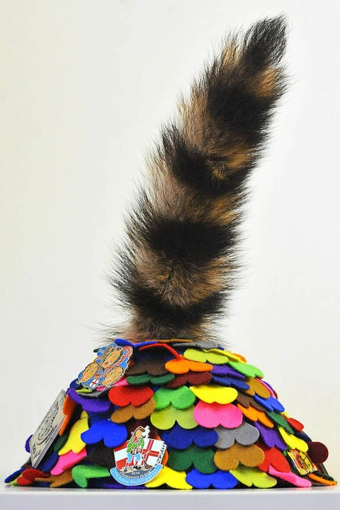 Die Katzenschwanzmütze der Fasnetrufer  | Foto: Michael Bamberger
