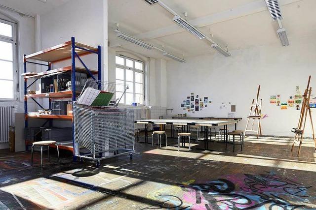 Wie geht's weiter mit den ehemaligen Räumen der Außenstelle der Kunstakademie Karlsruhe?
