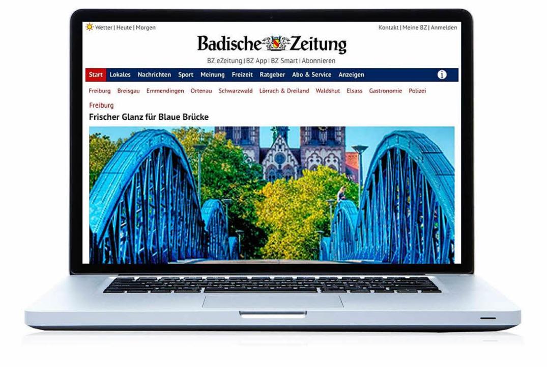 Ab sofort erscheint BZ Online in einem neuen Design.  | Foto: bz