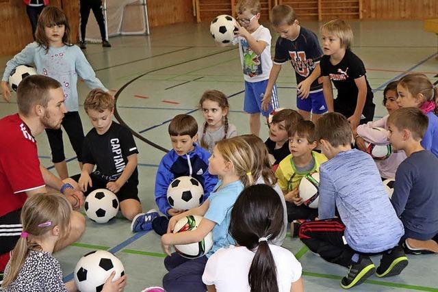 Schüler treffen Spieler