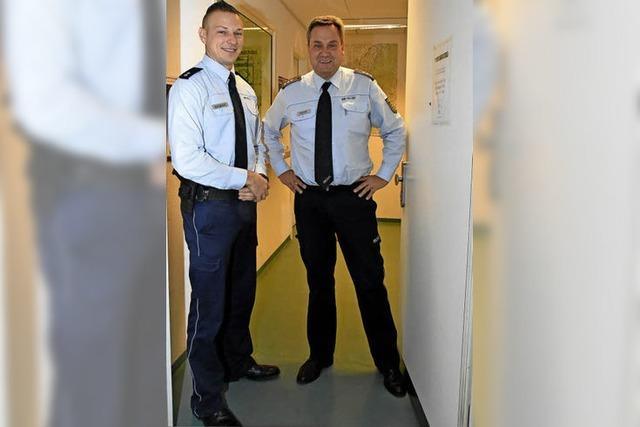 Beamte des Gundelfinger Polizeipostens sind in der dunklen Jahreszeit häufiger wegen Einbrüchen gefordert