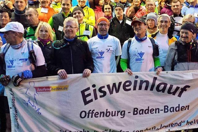 16. Eisweinlauf über 65 Kilometer nach Baden-Baden