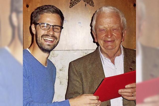 Heinz Müller ist auch mit 80 Jahren noch im Wahlkampfmodus