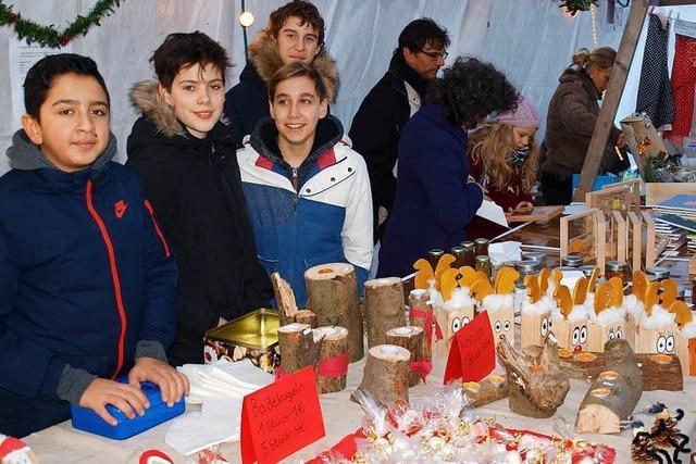 Weihnachtsmarkt am Wochenende in Brombach