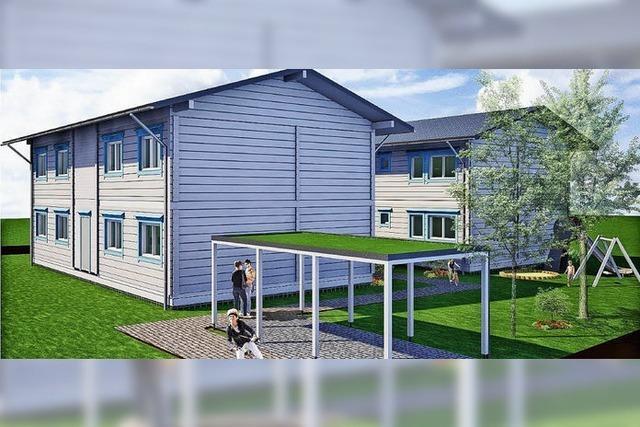 Gemeinde Stegen baut finnische Holzhäuser für Flüchtlinge