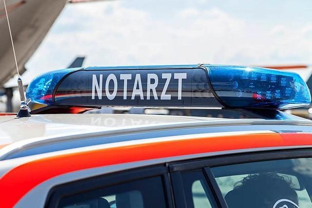 Fußgänger wird in Lörrach frontal von einem Auto erfasst