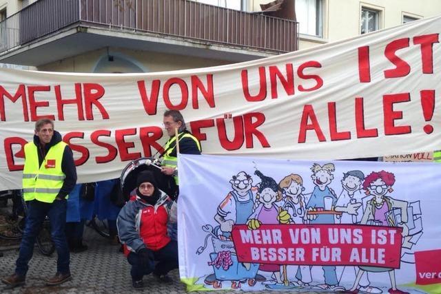 Pflegekräfte der Freiburger Uniklinik streiken – Operationen fallen aus