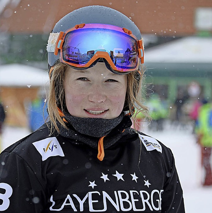 Talent mit Perspektiven: Jana Fischer vom SC Löffingen    Foto: Patrick Seeger