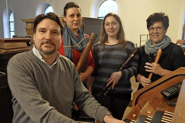 Barockmusik zugunsten der BZ-Weihnachtsaktion in St. Fridolin in Lörrach