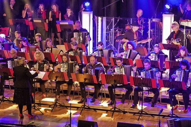 Orchester Akonima tritt am Samstag, 16. Dezember, ab 19 Uhr in der Stadthalle auf.