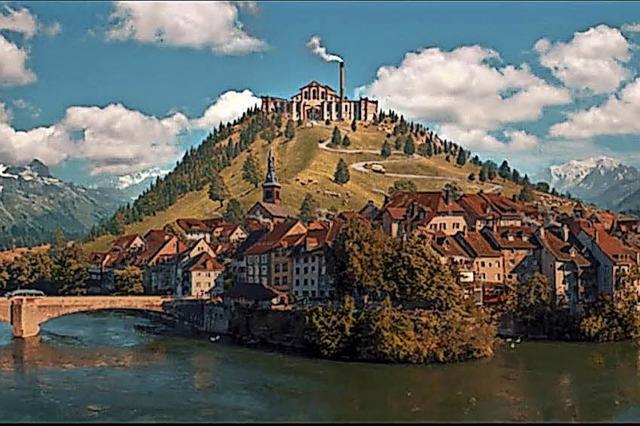 Papa Molls Filmheimat sieht aus wie Laufenburg