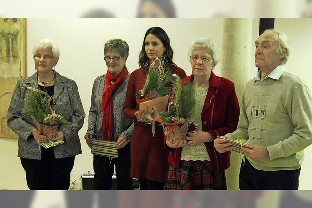 Elzacher VdK feierte Advent