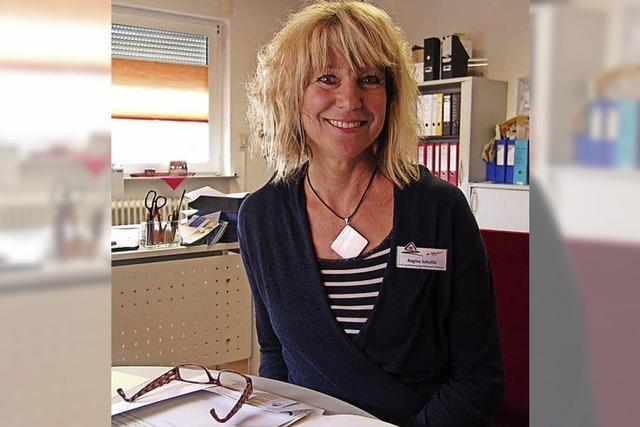 Regina Schultis kümmert sich in Bötzingen für die Kirchliche Sozialstation um Demenzkranke
