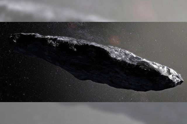 War es ein Raumschiff?