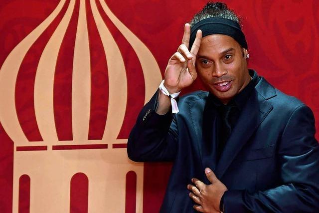 Ronaldinho will für brasilianische Populisten-Partei kandidieren