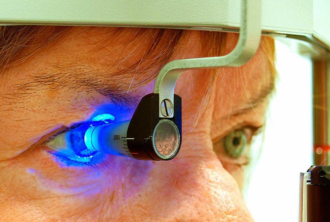 Ein Forschungsinstitut für Augenkrankh... wird in Basel gegründet (Symbolbild).  | Foto: dpa