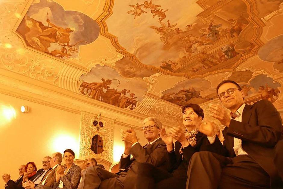 Feierstunde zur Verabschiedung von Jürgen Glocker im Schloss Bonndorf. (Foto: Stefan Limberger-Andris)