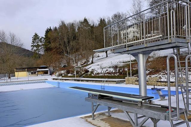 Das Megaprojekt Schwimmbad ist jetzt abgeschlossen