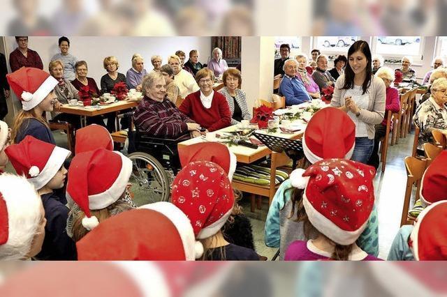 Weihnachtlicher Seniorentreff