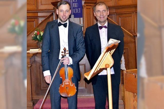 Wie Violine und Klavier zueinander finden