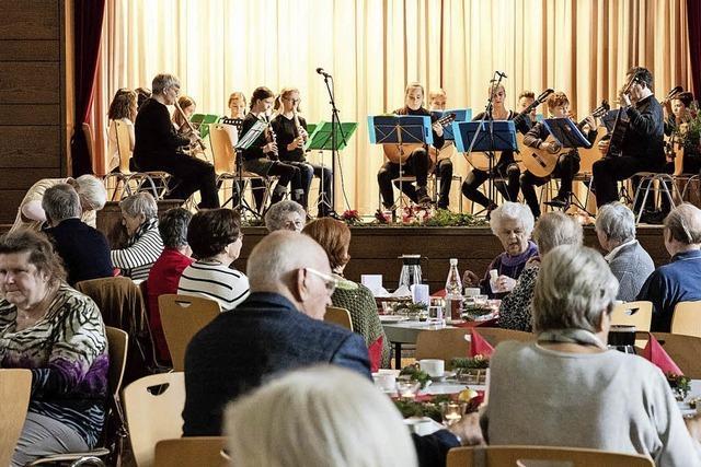 Musikschüler spielten beim VdK