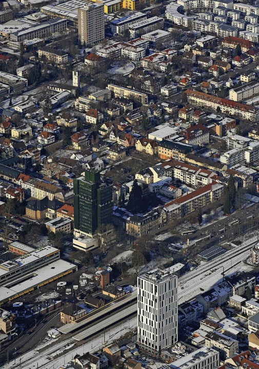 Lörrach ist eine dynamische Stadt. Der...die Entwicklung rasant bleiben wird.    | Foto: Erich Meyer