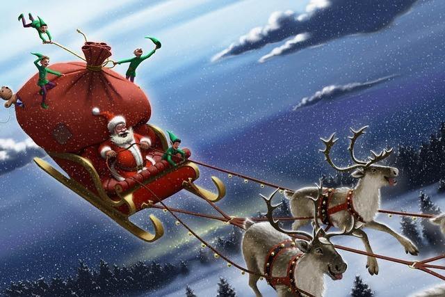 Hochbetrieb in der Weihnachtswerkstatt