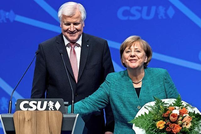 Merkel bricht das Eis