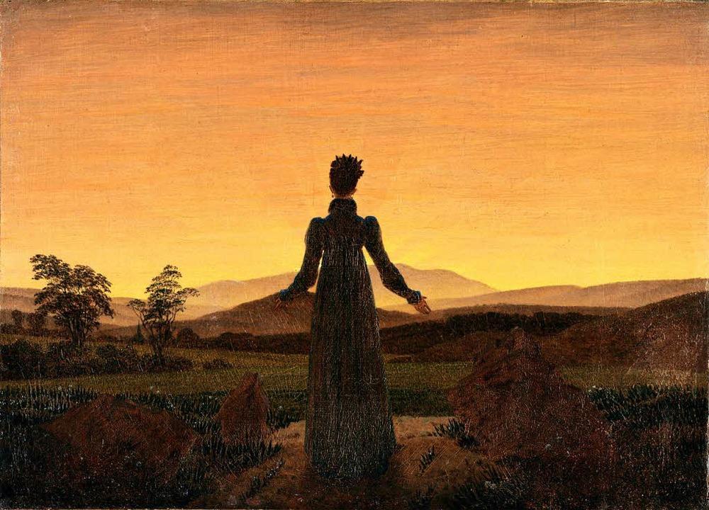 Caspars David Friedrichs Sonnenunterga...18 – Folge eines Vulkanausbruchs  | Foto: Folkwang-Museum