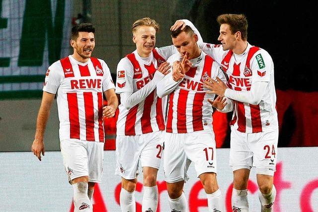 Köln landet ersten Saisonsieg gegen Wolfsburg